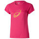 asics Graphic SS Top Women ultra pink